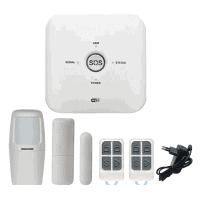 Smart Security Alarm Kit, GSM Sim Card, 433MHZ Sensors