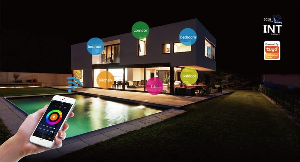 Smart home Lighting by Tuya smartlife app