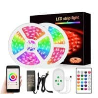 smart wifi led strip light 5050 led 10m tuya smartlife