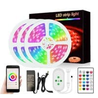 smart wifi led strip light 5050 led 15m tuya smartlife