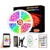 smart wifi led strip light 5050 led 5m tuya smartlife